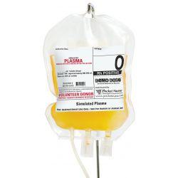 Transfusiezakje Plasma O Rh positief , verp. 1 zakje