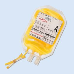 Transfusiezakje Trombocyten, A Rh positief, verp. 1 zakje