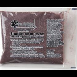 Simulaids Bloedpoeder voor ca.4 liter bloed