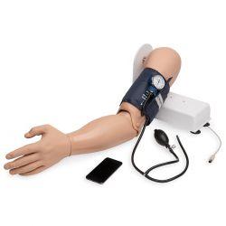 Trainingsarm voor bloeddrukmeting met IPOD