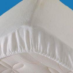 Matrasbeschermer met elastiek om de hoeken, 90x200cm