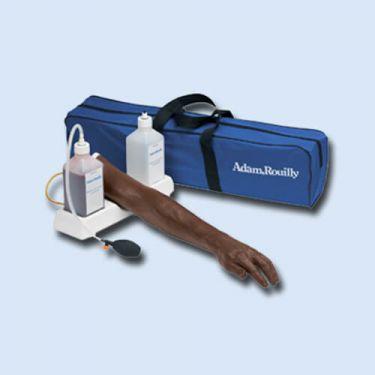 Huid en ader voor injectiearm AR251, Bruin