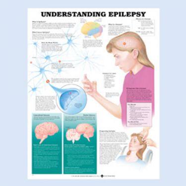 Wandplaat 'Understanding Epilepsy'