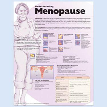Wandplaat 'Understanding Menopauze'