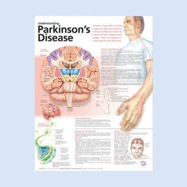 Wandplaat 'Understanding Parkinson's Disease'