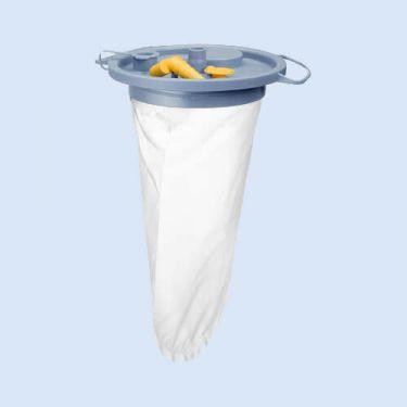 Opvangzak voor in uitzuigpot 1.5 liter, verp.40 stuks