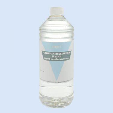 Gedestilleerd water 1 liter, verp. 1 fles