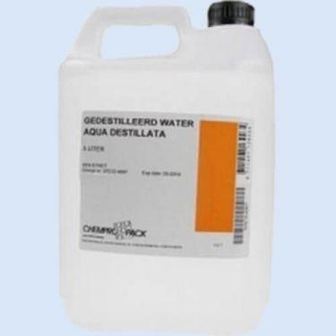 Gedestilleerd water 10 liter can, verp. 1 stuk