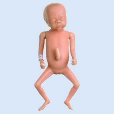 SOMSO Premature baby oefenpop ,meisje 27 weken
