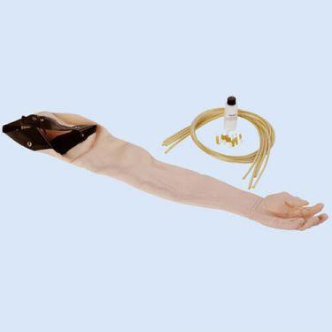 Huid en ader set voor injectiearm LF01121, blank