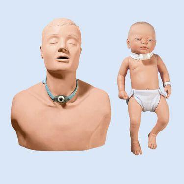 Tracheostomy set, volwassene en baby